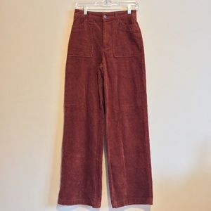 Forever 21 Contemporary Corduroy Pants
